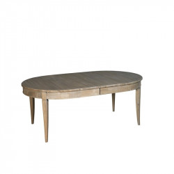 Table ovale  (4 allonges de...