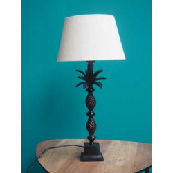 Lampe noire ananas