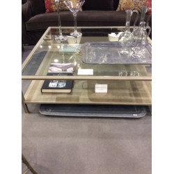 TABLE BASSE 100 X 100 METAL...