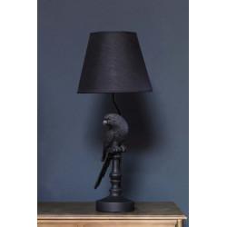 LAMPE PERROQUET NOIRE