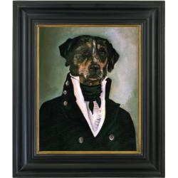 """tableau chien rigolo """"..."""