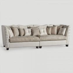 Canapé en lin Longueur 280 cm