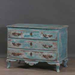Commode Sir Thomas Bleu Lagon