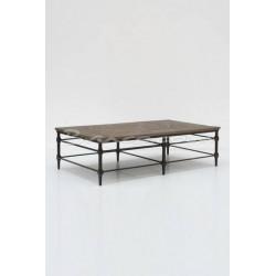 Table de salon rectangle en...