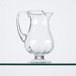 Pichet en verre soufflé