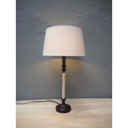 LAMPE (25) 44cms colonne os...