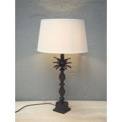 LAMPE  44 cm colonne os &...