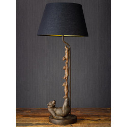 LAMPE famille ours...