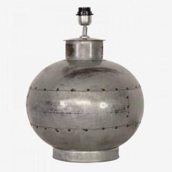 Grosse lampe ronde en métal...