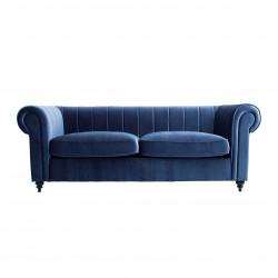 Canapé bleu marine