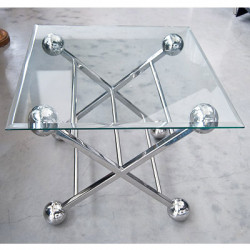 Table d'appoint 61X61X57CM
